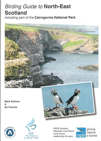 Image for Birding Guide to North-East Scotland: Including Part of the Cairngorms National Park