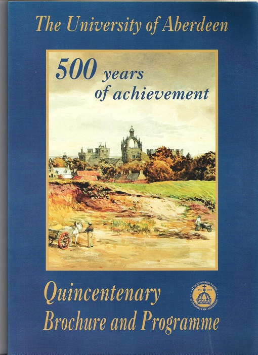 Image for The University of Aberdeen: 500 Years of Achievement.