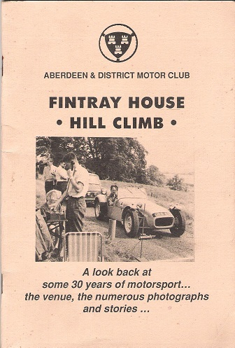 Image for Fintray House Hill Climb.