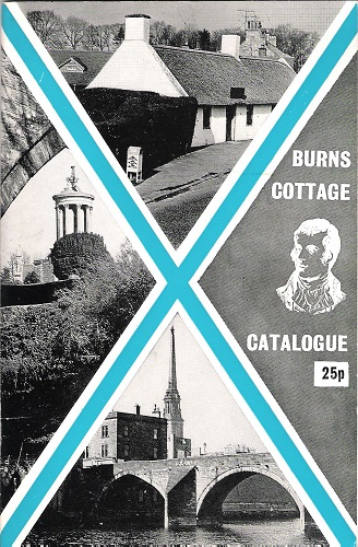 Image for Burns Cottage Alloway: Catalogue of Manuscripts, Relics, Paintings and Other Exhibits in the Cottage and Museum with Historical Note.