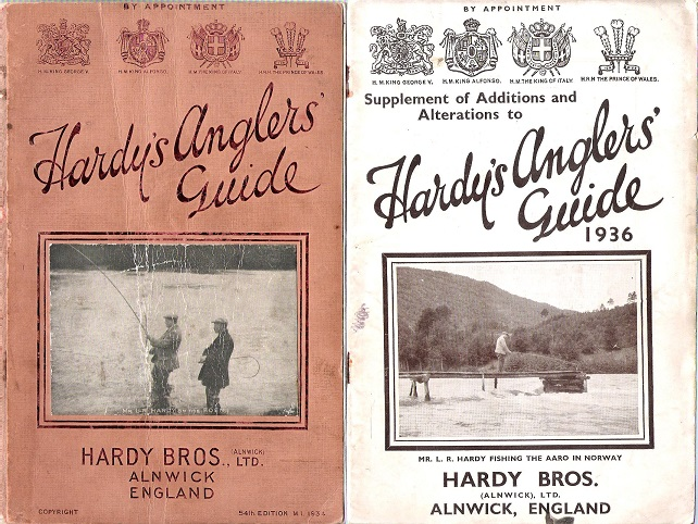 Image for Hardy's Anglers Guide 1934.