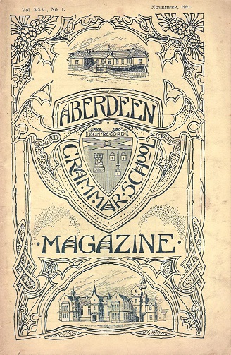 Image for Aberdeen Grammar School Magazine, Volume XXV.