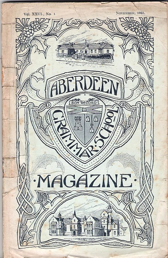 Image for Aberdeen Grammar School Magazine, Volume XXVI.