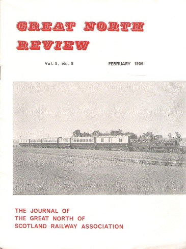 Image for Great North Review. Volume 3, No 8.
