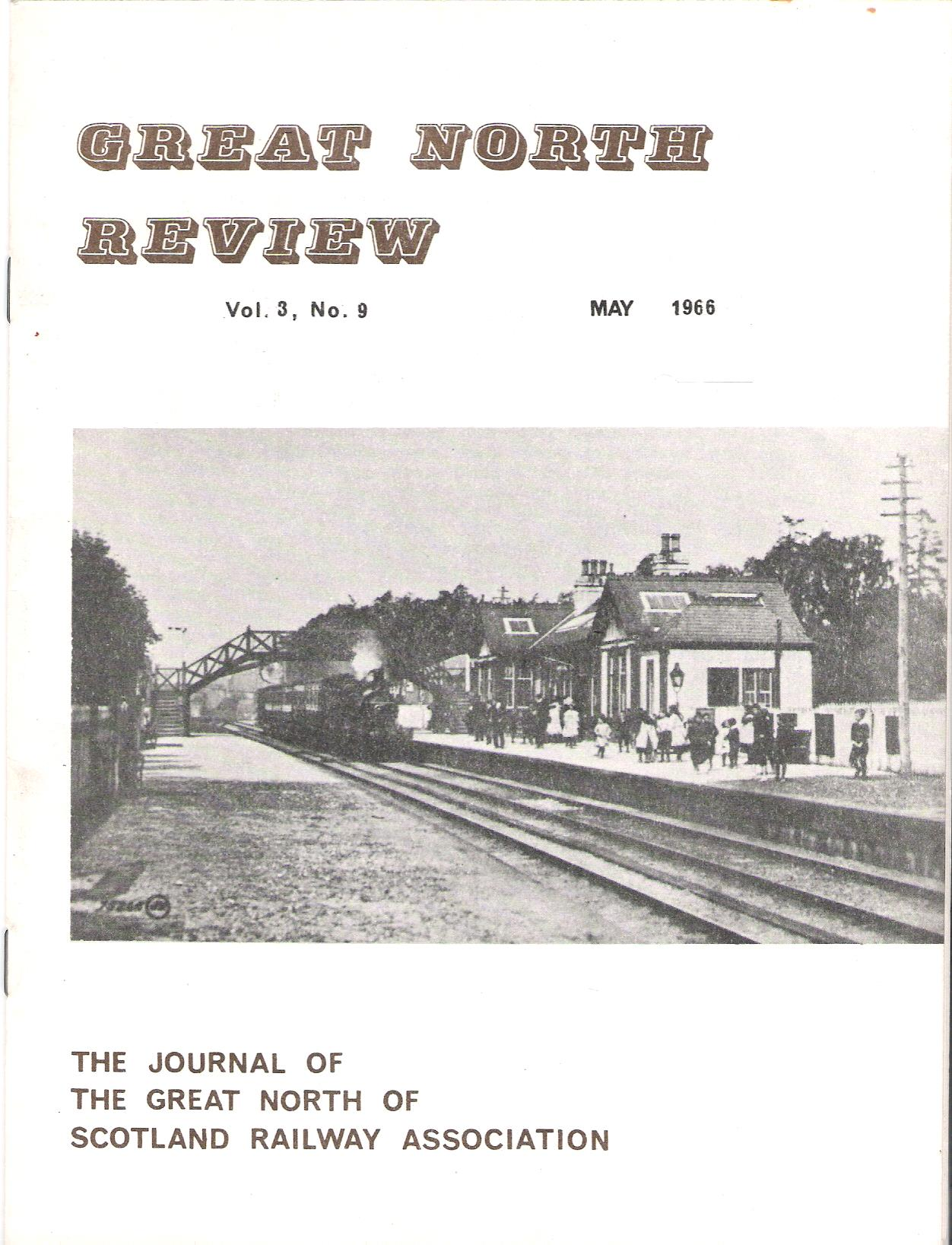 Image for Great North Review. Volume 3, No 9.