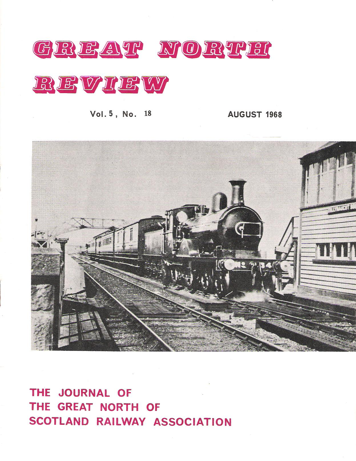 Image for Great North Review. Volume 5, No18.