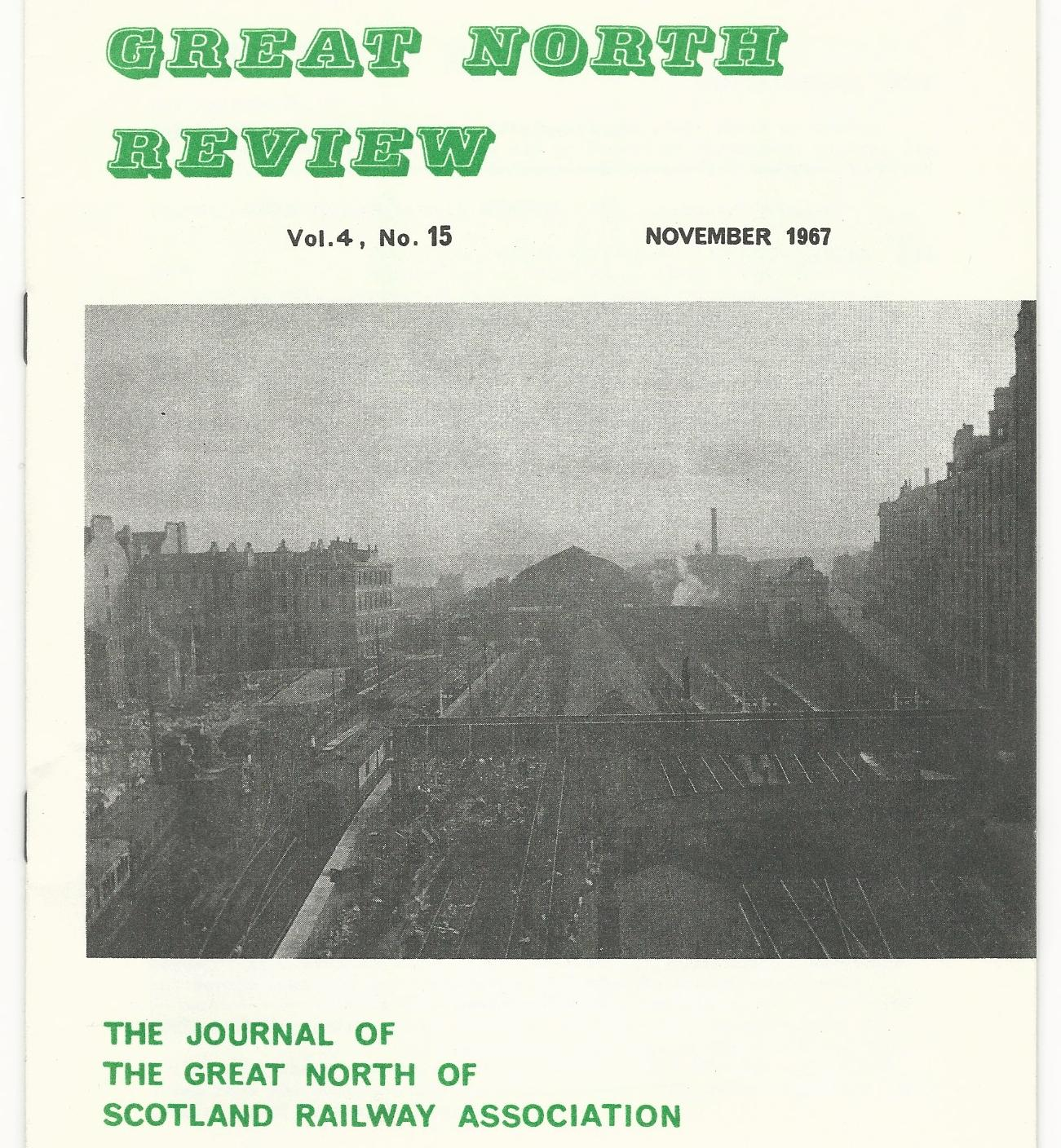 Image for Great North Review. Volume 4, No 15.
