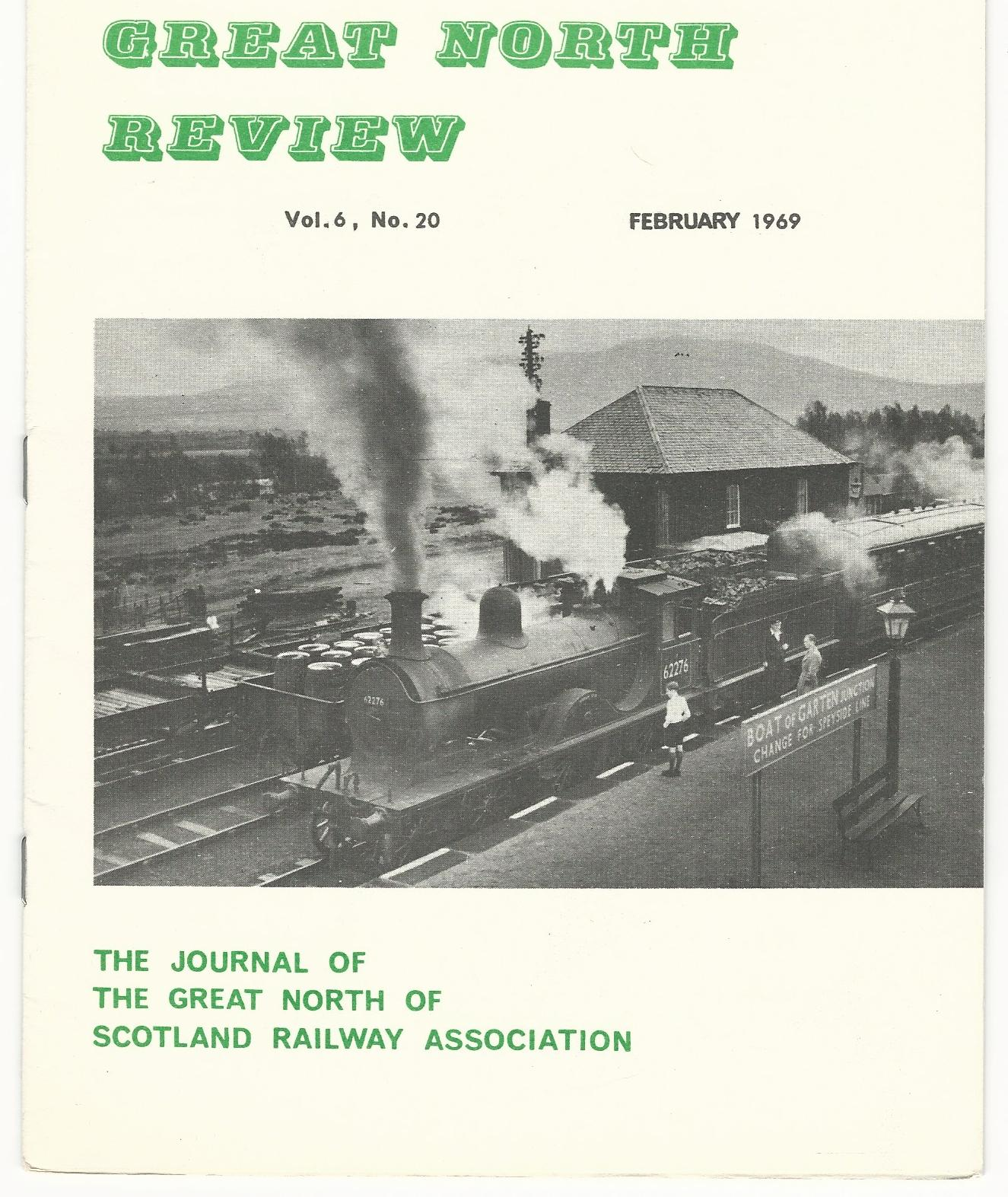 Image for Great North Review. Volume 6, No 20.
