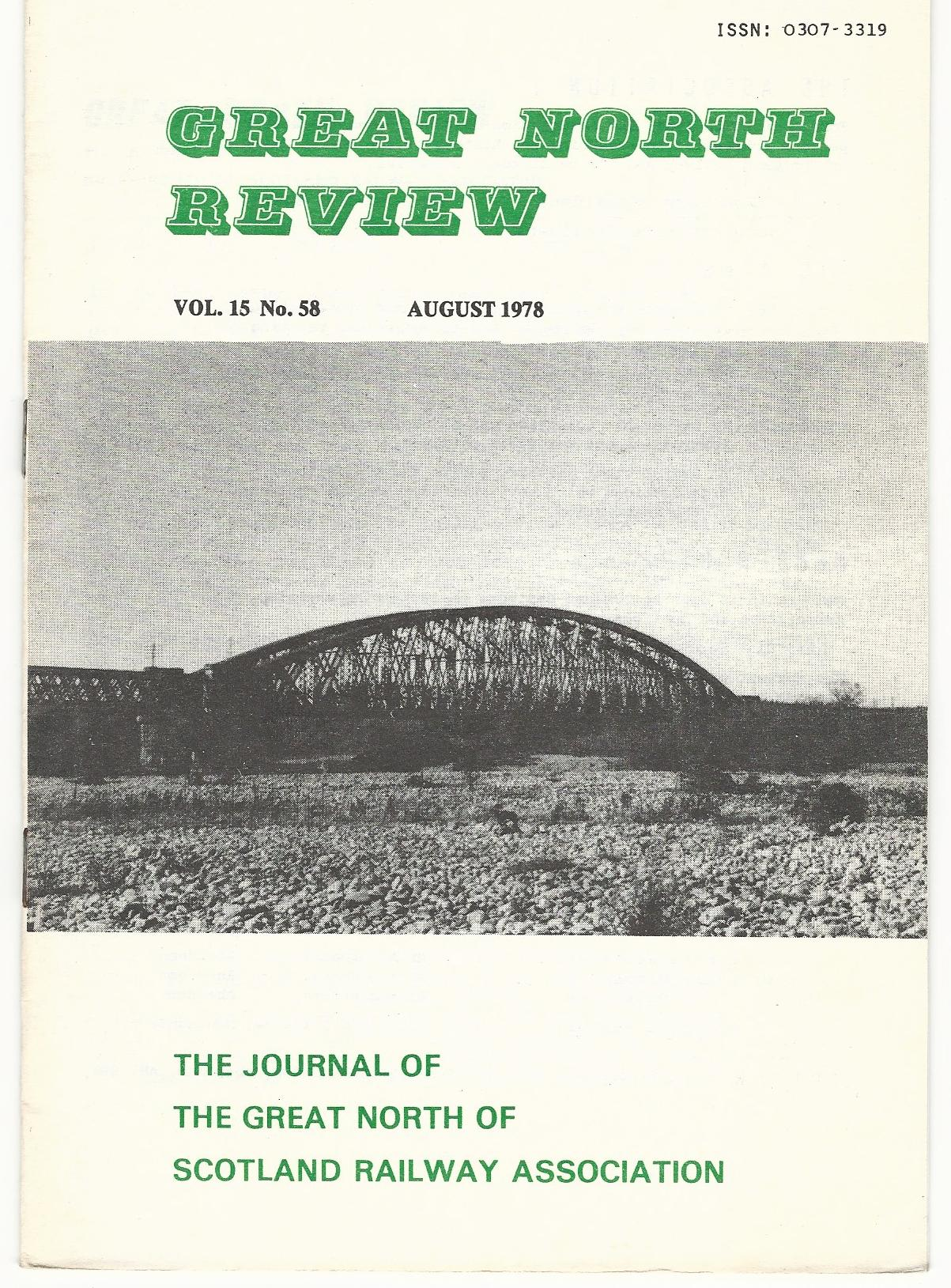 Image for Great North Review. Volume 15, No. 58.