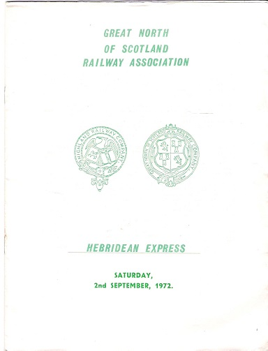 Image for Great North of Scotland Railway Association: Hebridean Express.