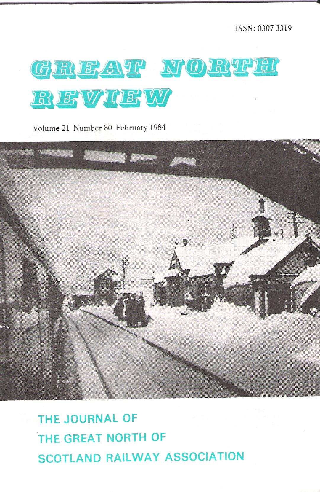 Image for Great North Review. Volume 21, No. 80.
