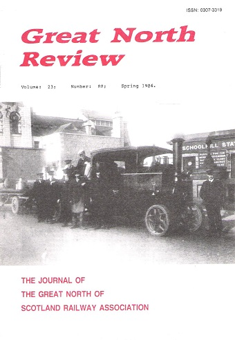 Image for Great North Review. Volume 23, No. 88.