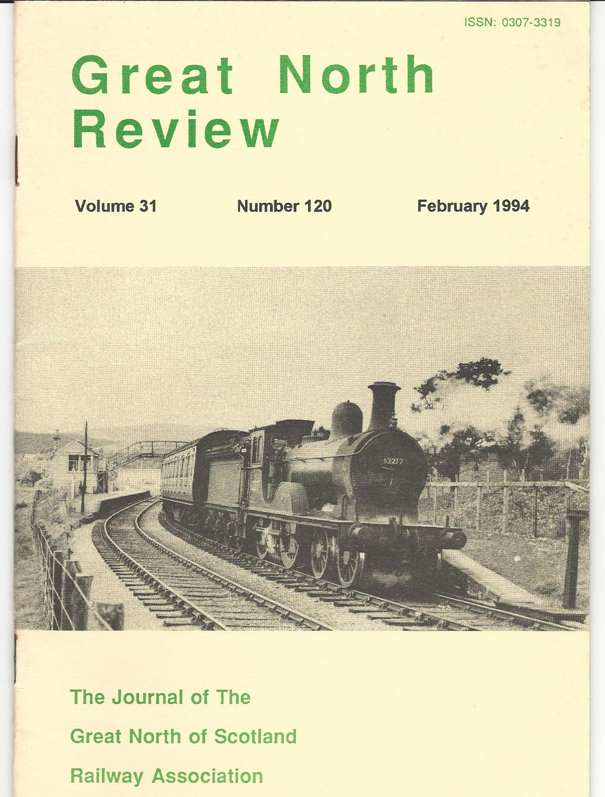 Image for Great North Review. Volume 31, No. 120.