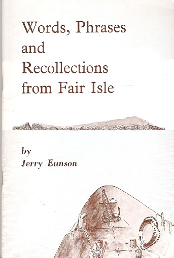 Image for Words, Phrases and Recollections from Fair Isle.