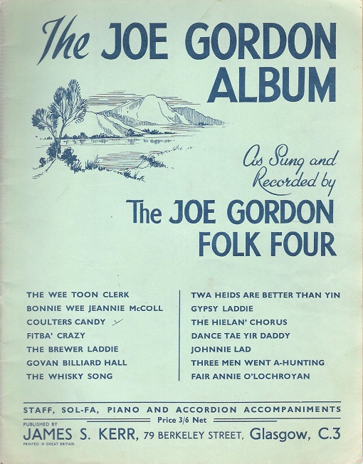 Image for The Joe Gordon Album As Sung and Recorded by The Joe Gordon Folk Four.