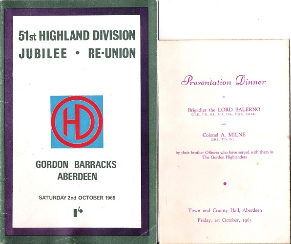 Image for 51st Highland Division Jubilee Reunion, Gordon Barracks Aberdeen.