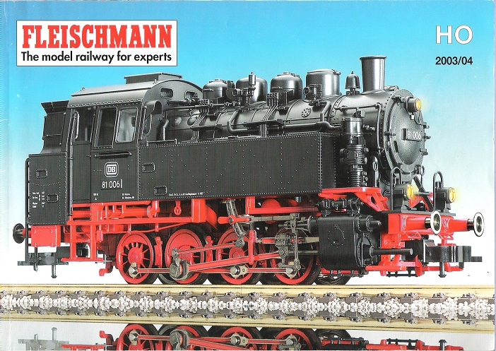 Image for Fleischmann 2003/04 Catalogue.