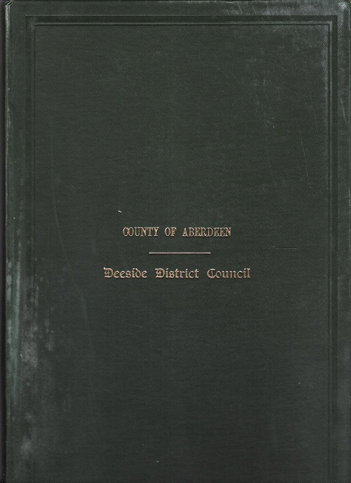 Image for Minutes and Proceedings of the Deeside District Council 1938 - 1939.