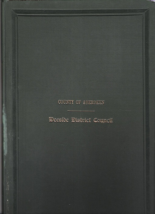 Image for Minutes and Proceedings of the Deeside District Council 1940 - 41.
