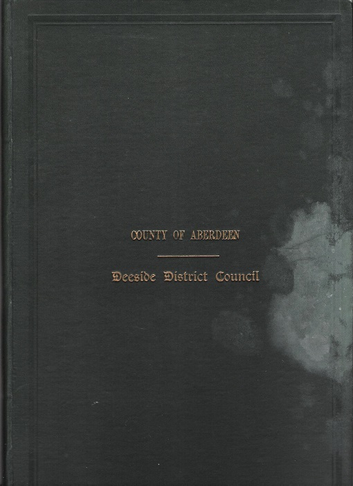 Image for Minutes and Proceedings of the Deeside District Council 1931 - 32.