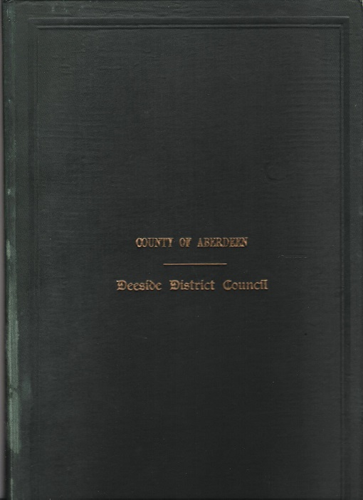 Image for Minutes and Proceedings of the Deeside District Council 1933 -34.
