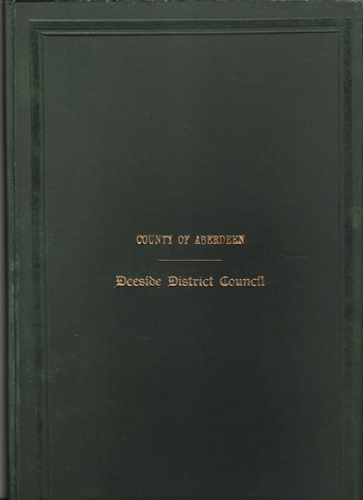 Image for Minutes and Proceedings of the Deeside District Council 1939 - 40.