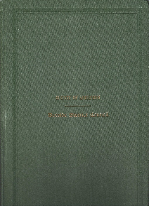 Image for Minutes and Proceedings of the Deeside District Council 1944 - 45.