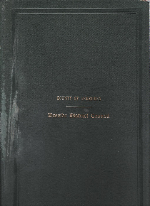 Image for Minutes and Proceedings of the Deeside District Council 1942 - 43.