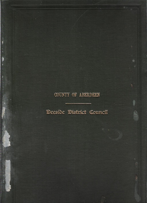 Image for Minutes and Proceedings of the Deeside District Council 1935- 36.