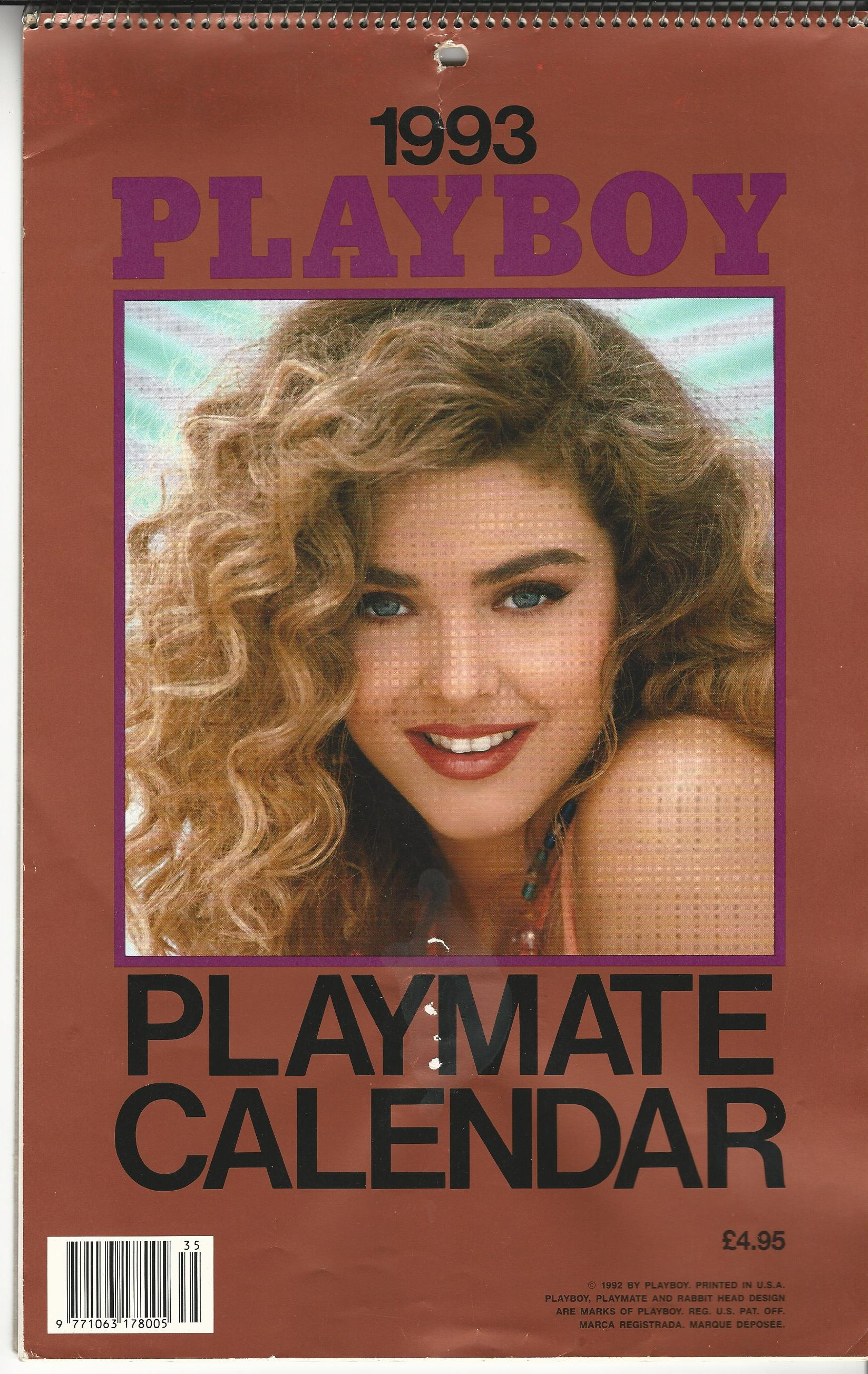 Image for Playboy Playmate Calendar 1993.