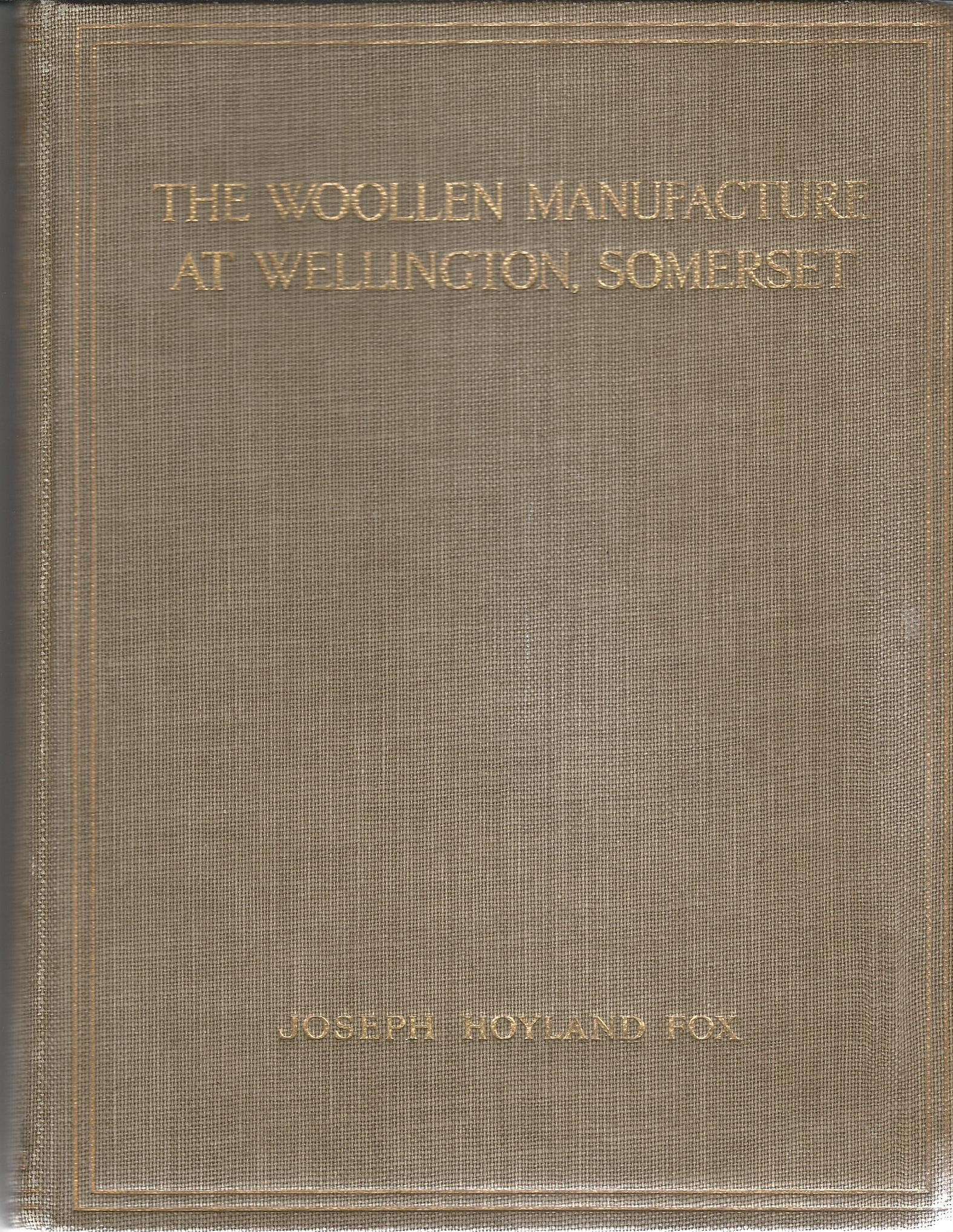 Image for The Woollen Manufacture at Wellington, Somerset.