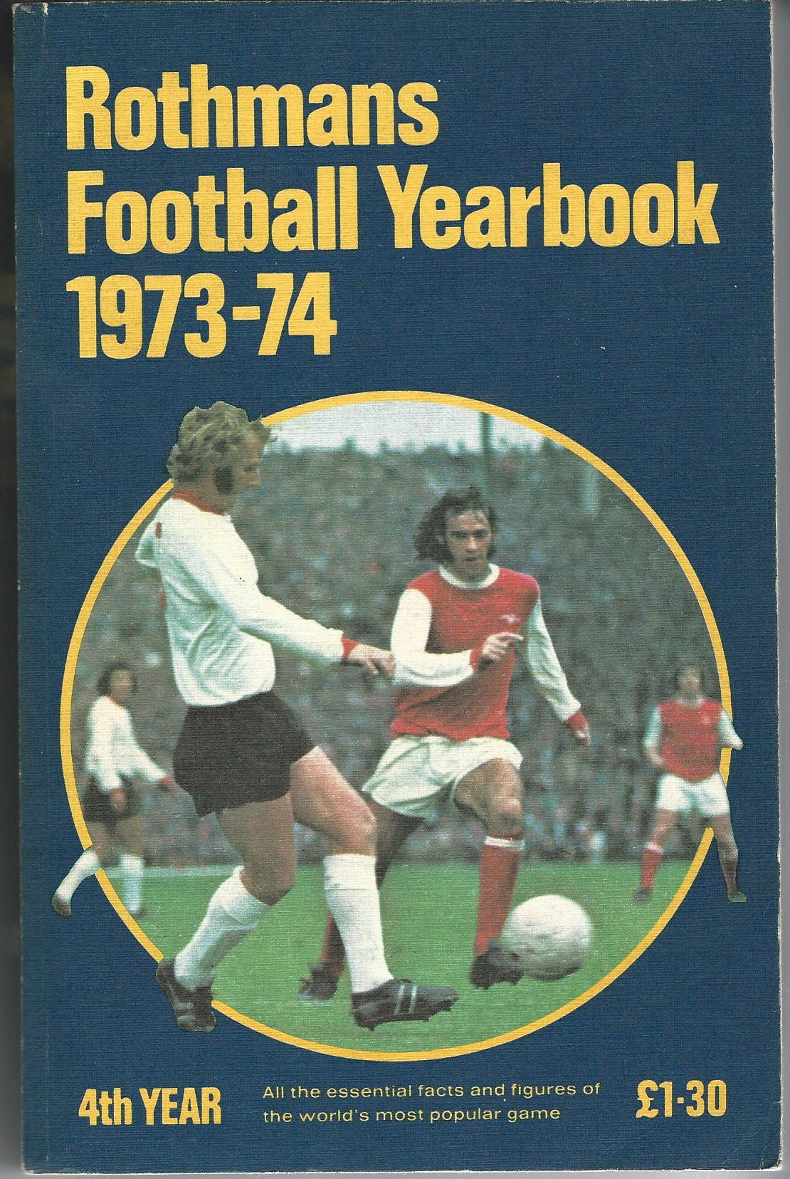 Image for Rothmans Football Yearbook 1973-74.