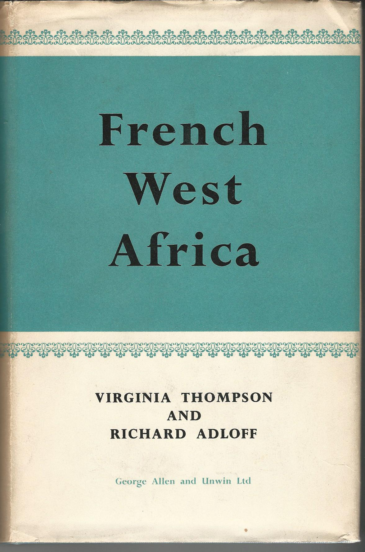 Image for French West Africa.