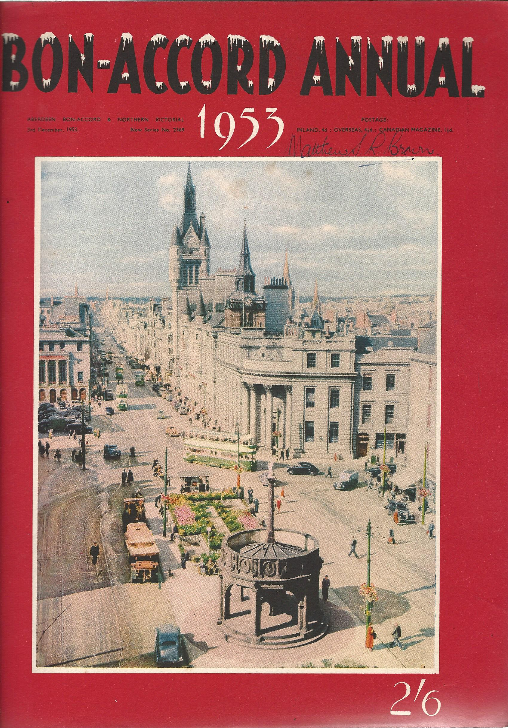 Image for Bon-Accord Annual 1953.