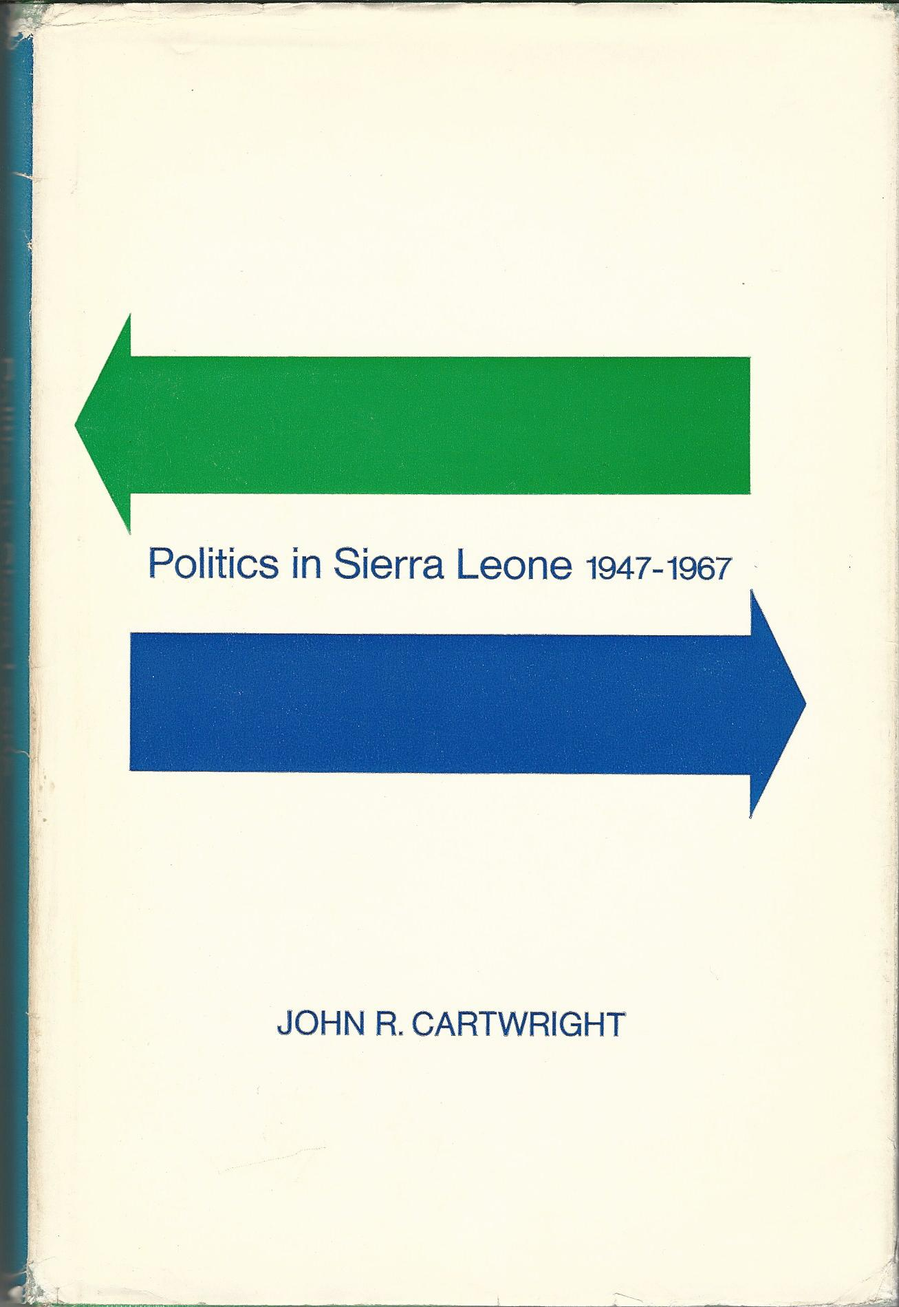 Image for Politics in Sierra Leone, 1947-1967