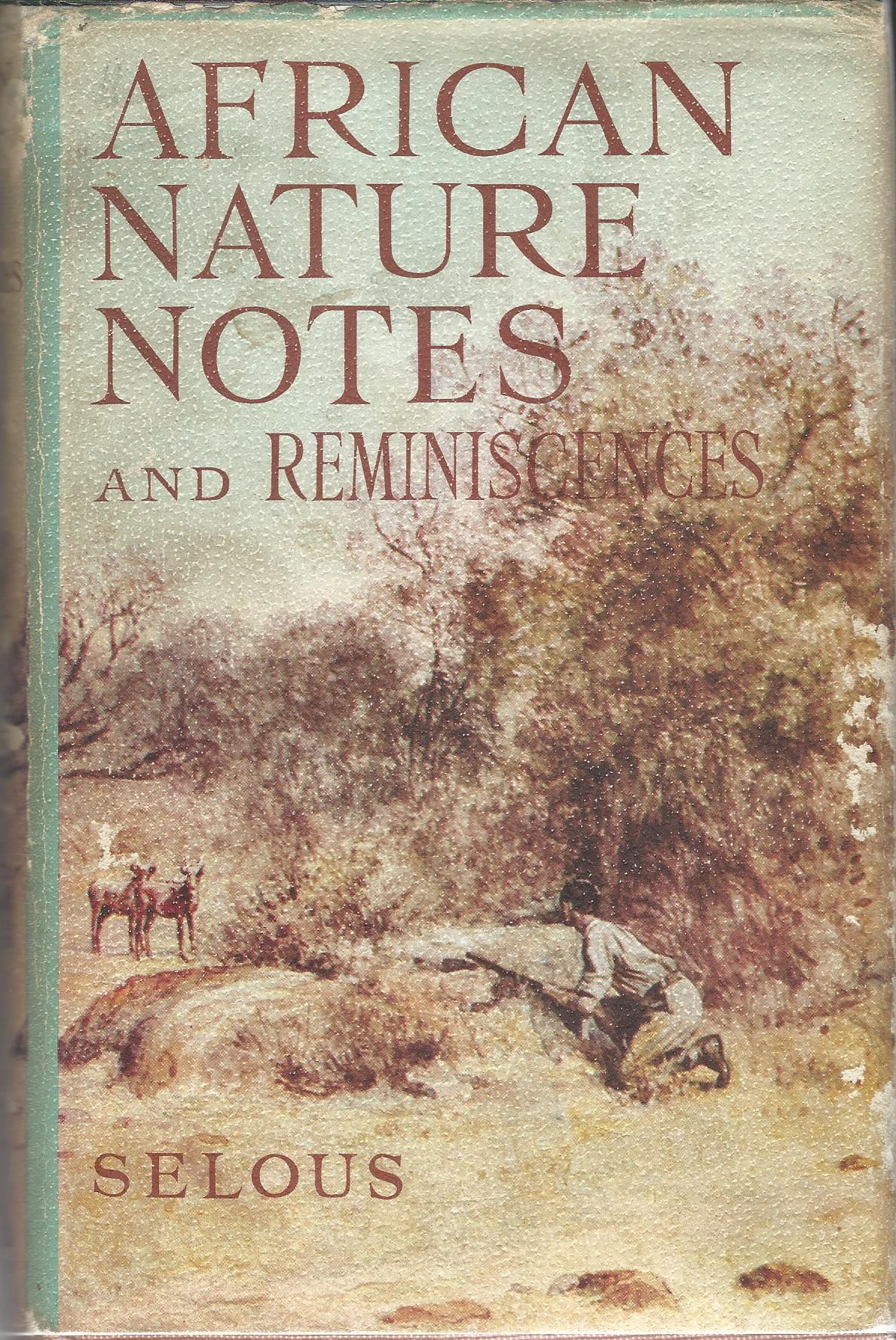 Image for African Nature Notes and Reminiscences.