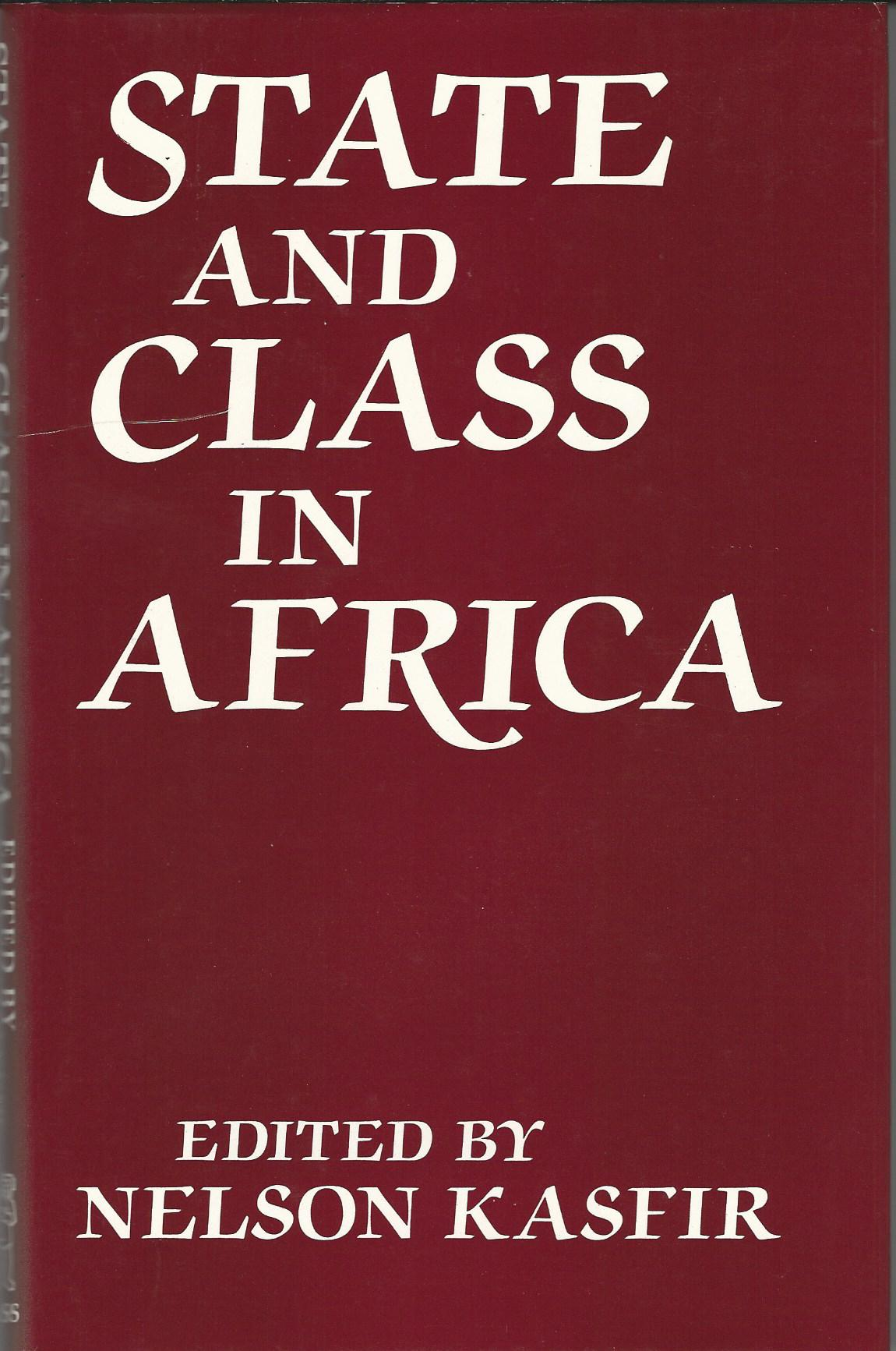Image for State and Class in Africa