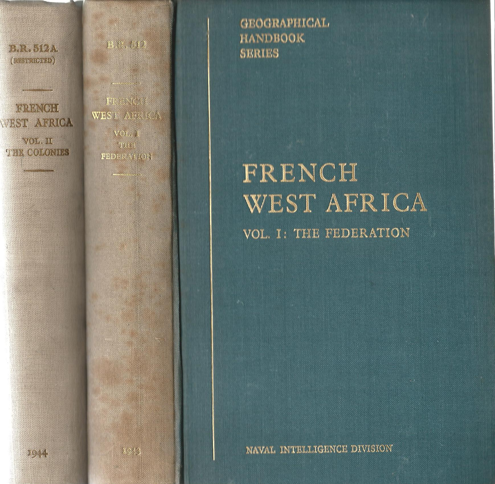 Image for French West Africa (2 Volumes Complete)