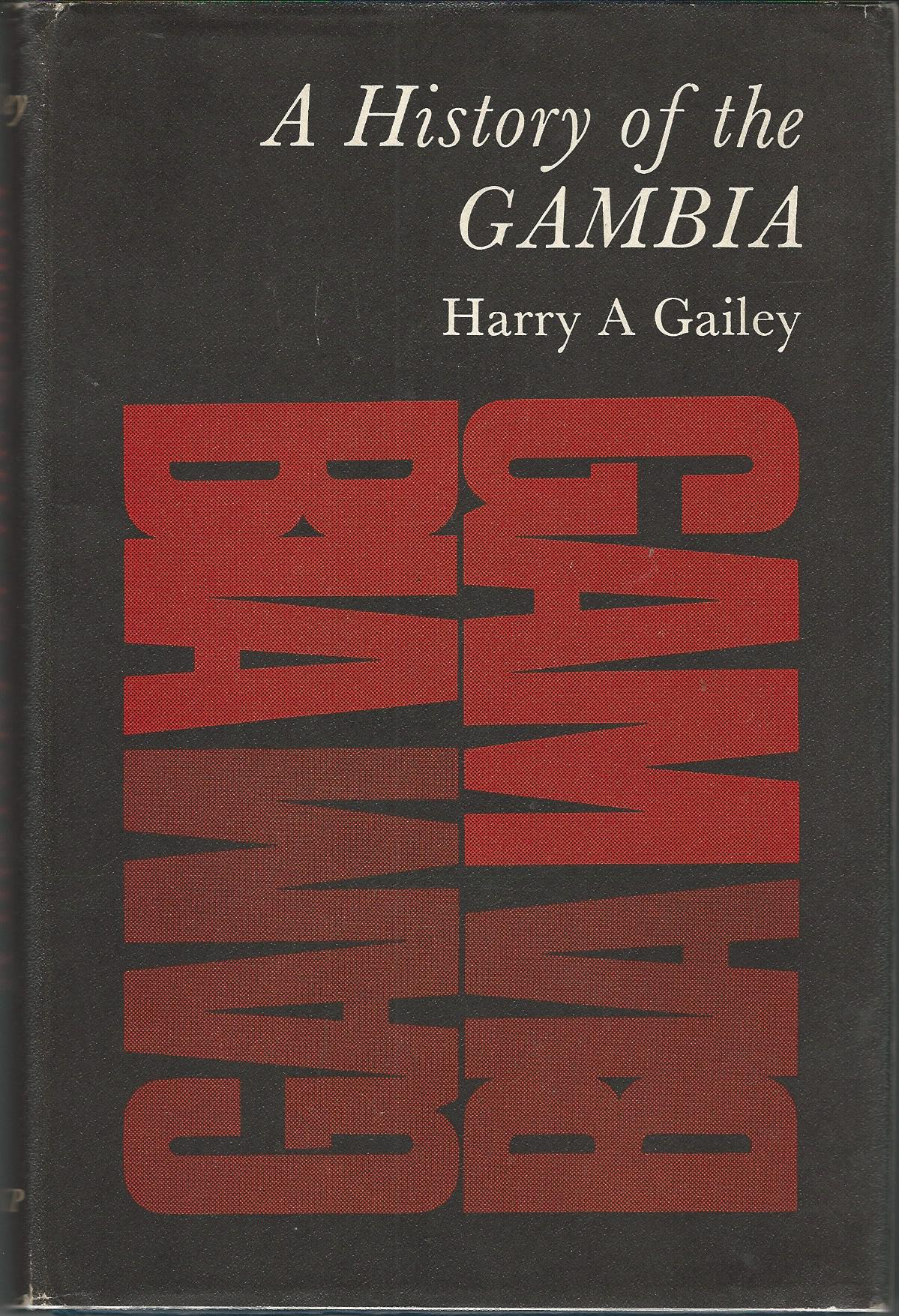Image for A History of the Gambia.
