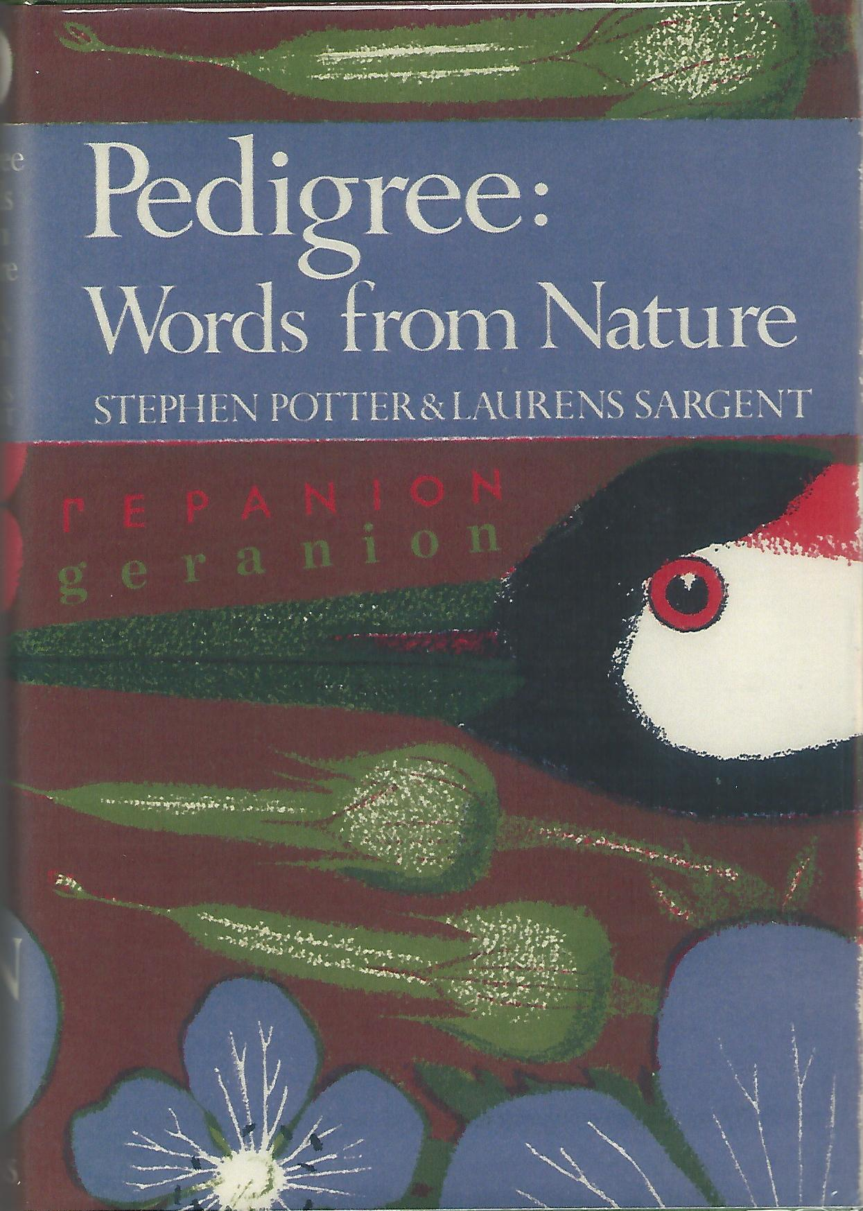 Image for Pedigree: Essays on the Etymology of Words from Nature