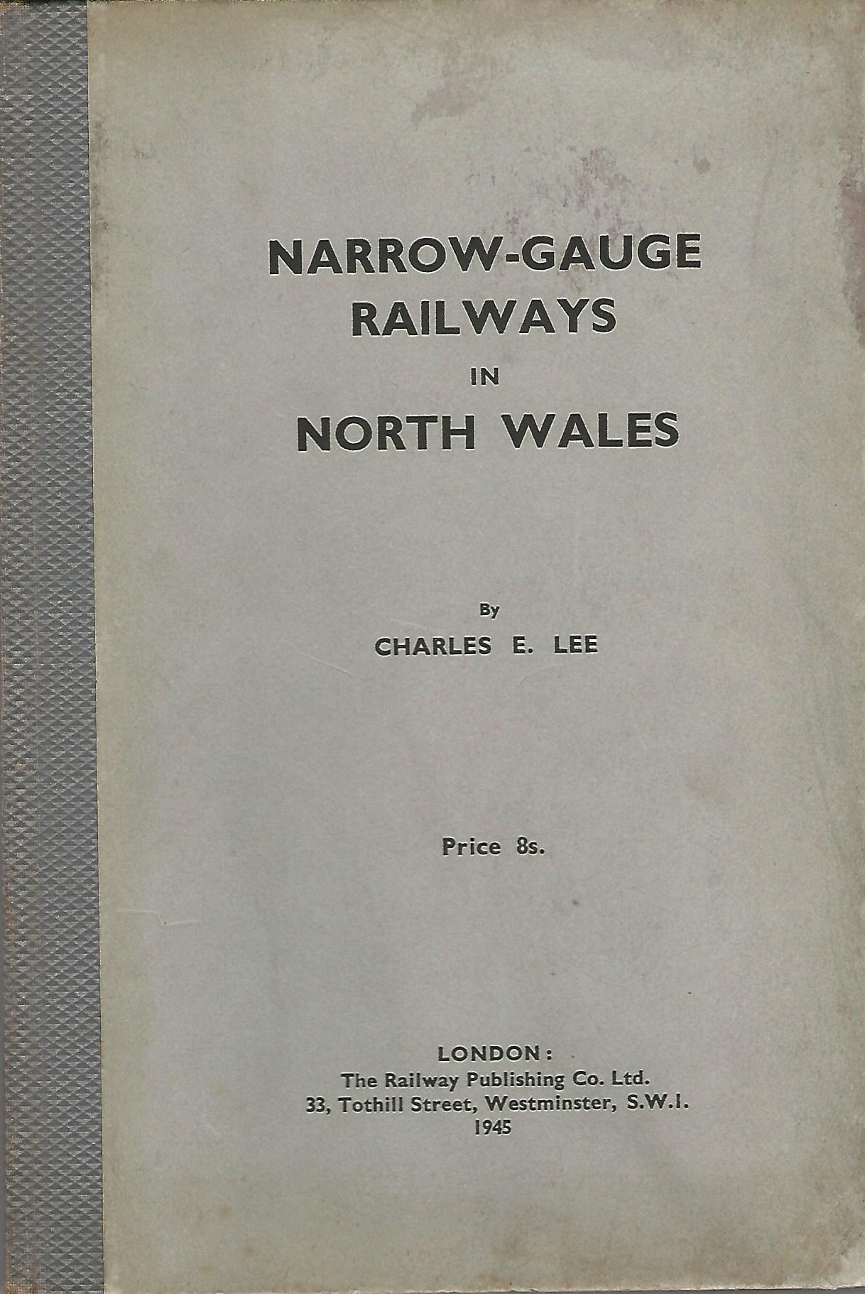 Image for Narrow-Gauge Railways in North Wales.