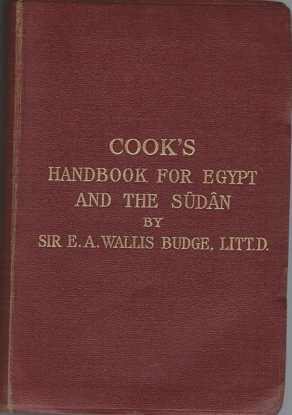 Image for The Traveller's Handbook for Egypt and the Sudan (Cook's).