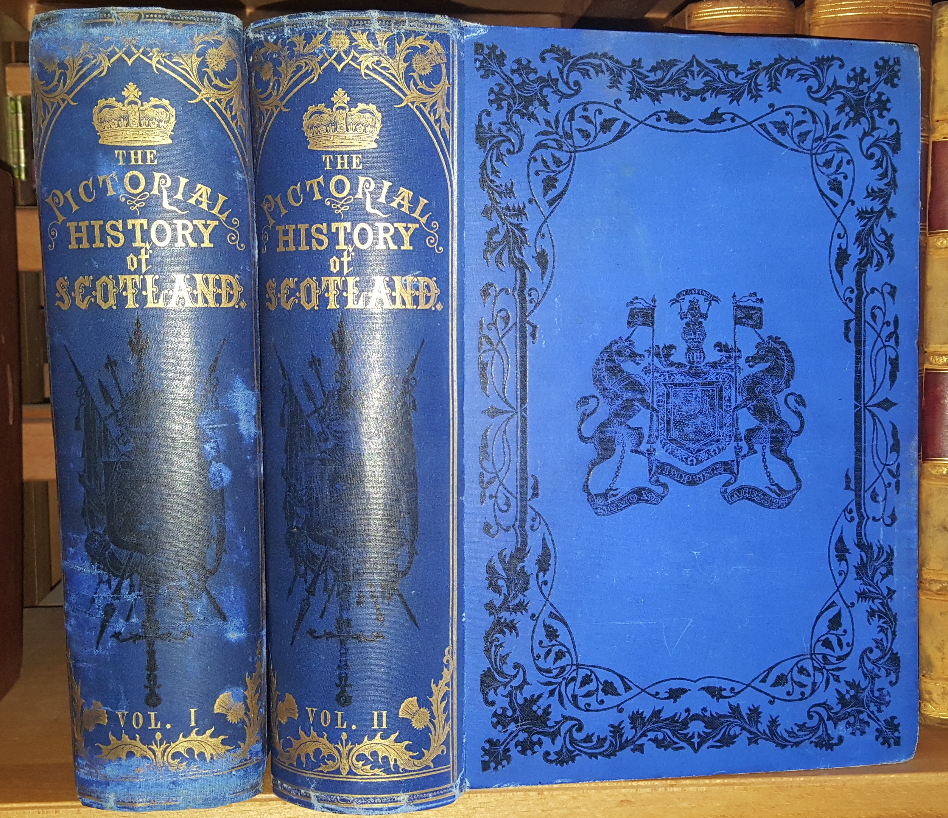 Image for Pictorial History of Scotland from the Roman Invasion to the Close of the Jacobite Revolution A.D. 79 - 1746.
