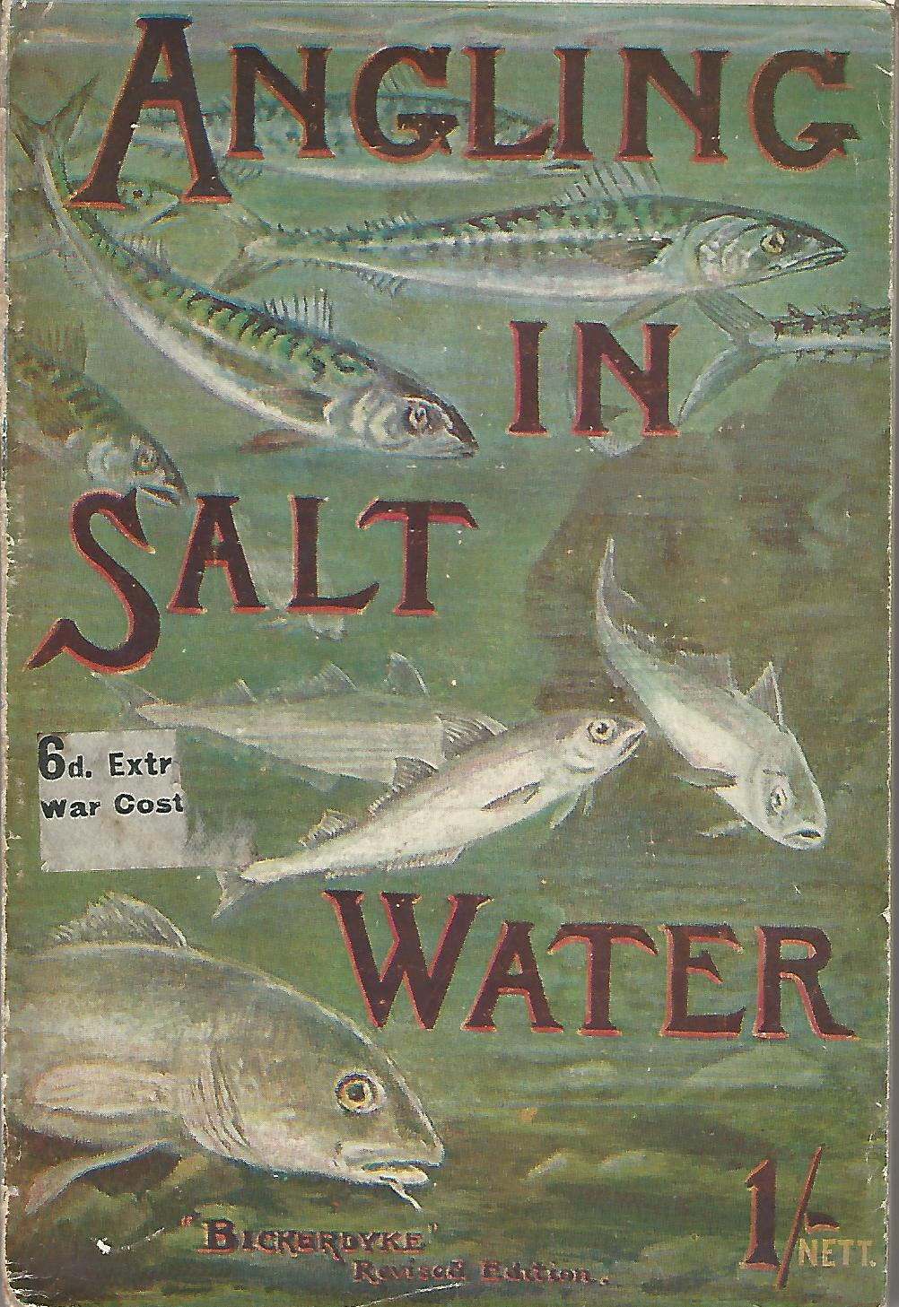 Image for Angling in Salt Water: A Practical Work on Sea Fishing with Rod and Line from the Shore, Oiers, Jetties, Rocks and from Boats together with some account of Hand-Lining.