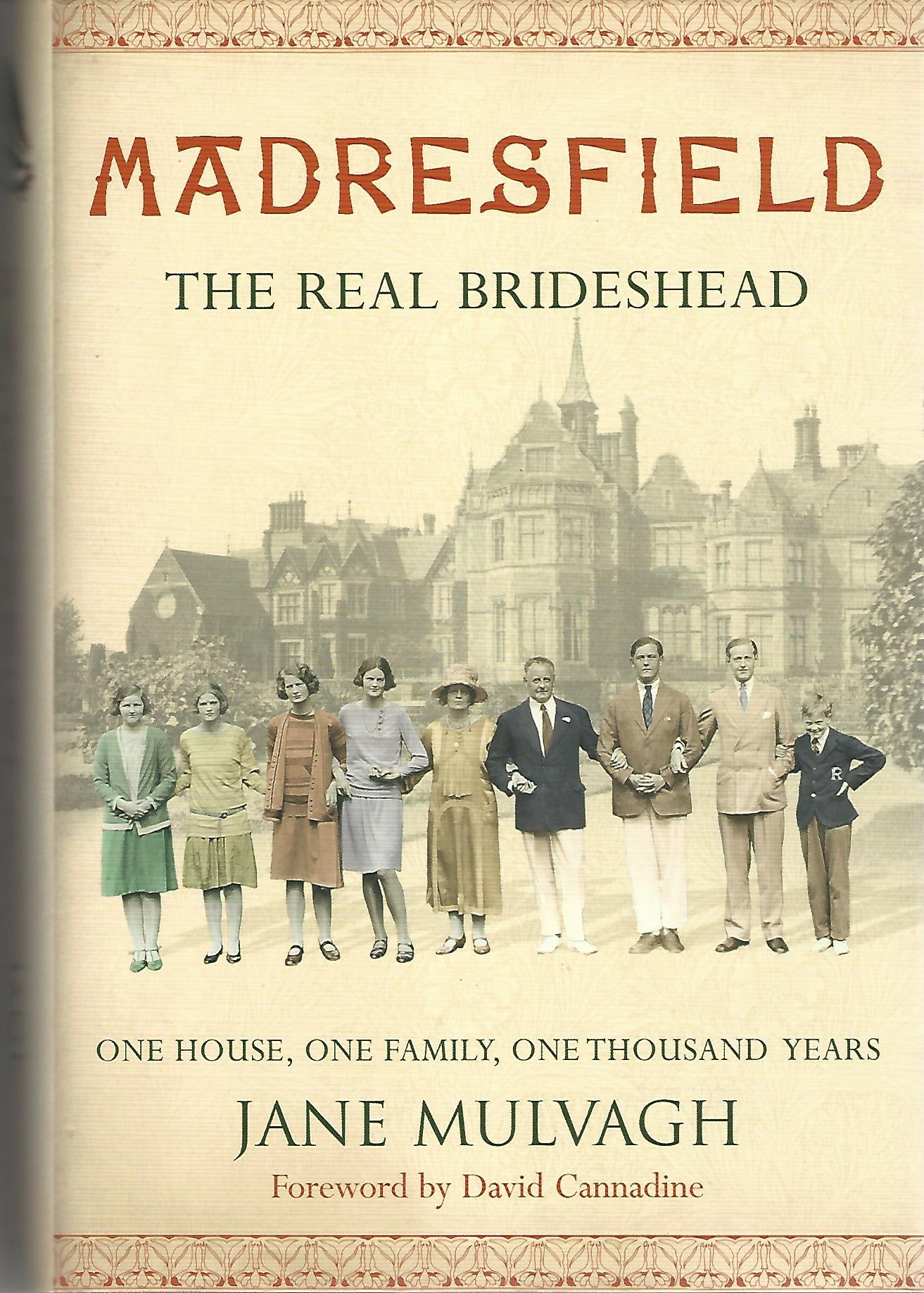 Image for Madresfield: One House, One Family, One Thousand Years.