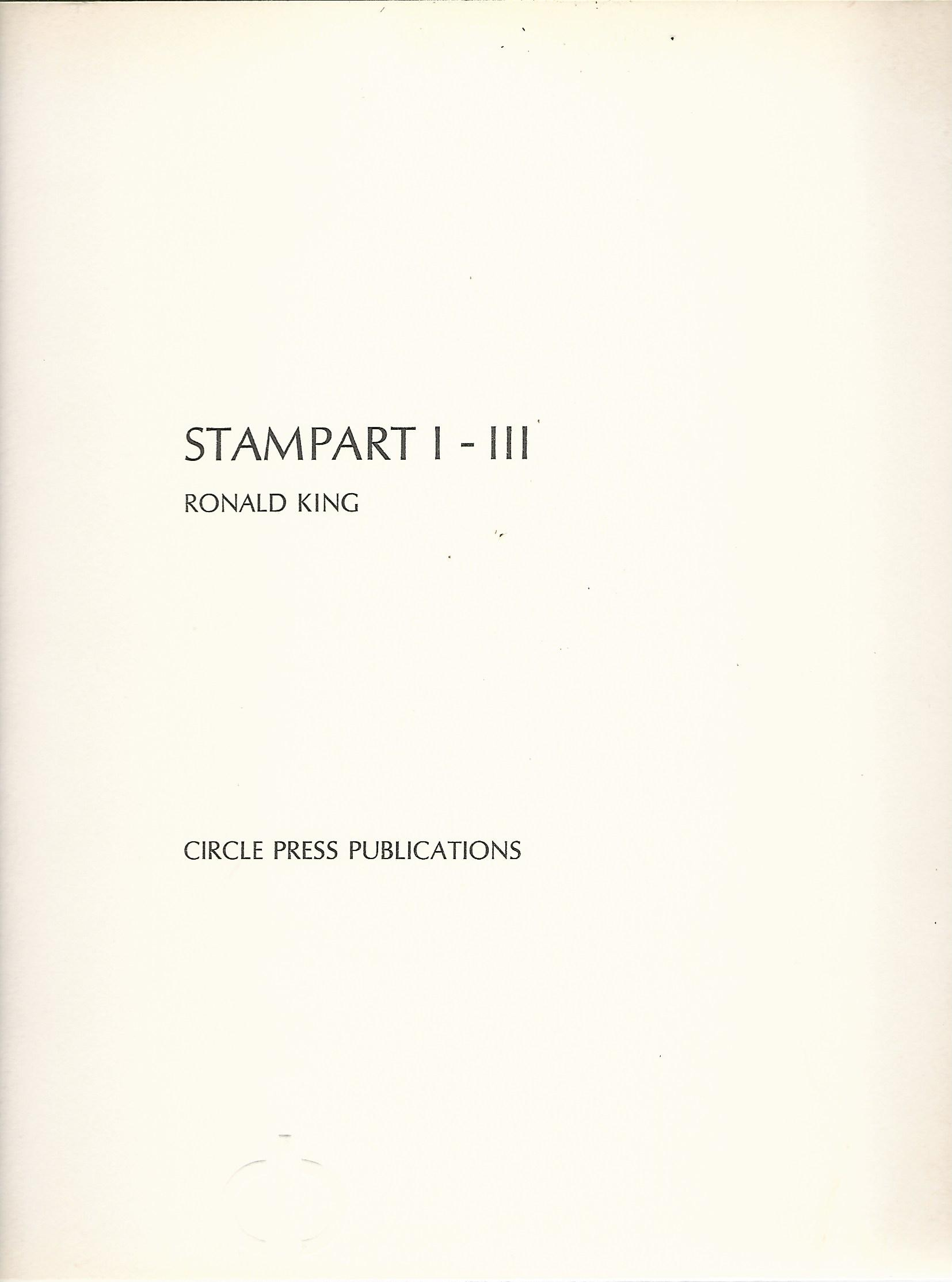 Image for Stampart I-III