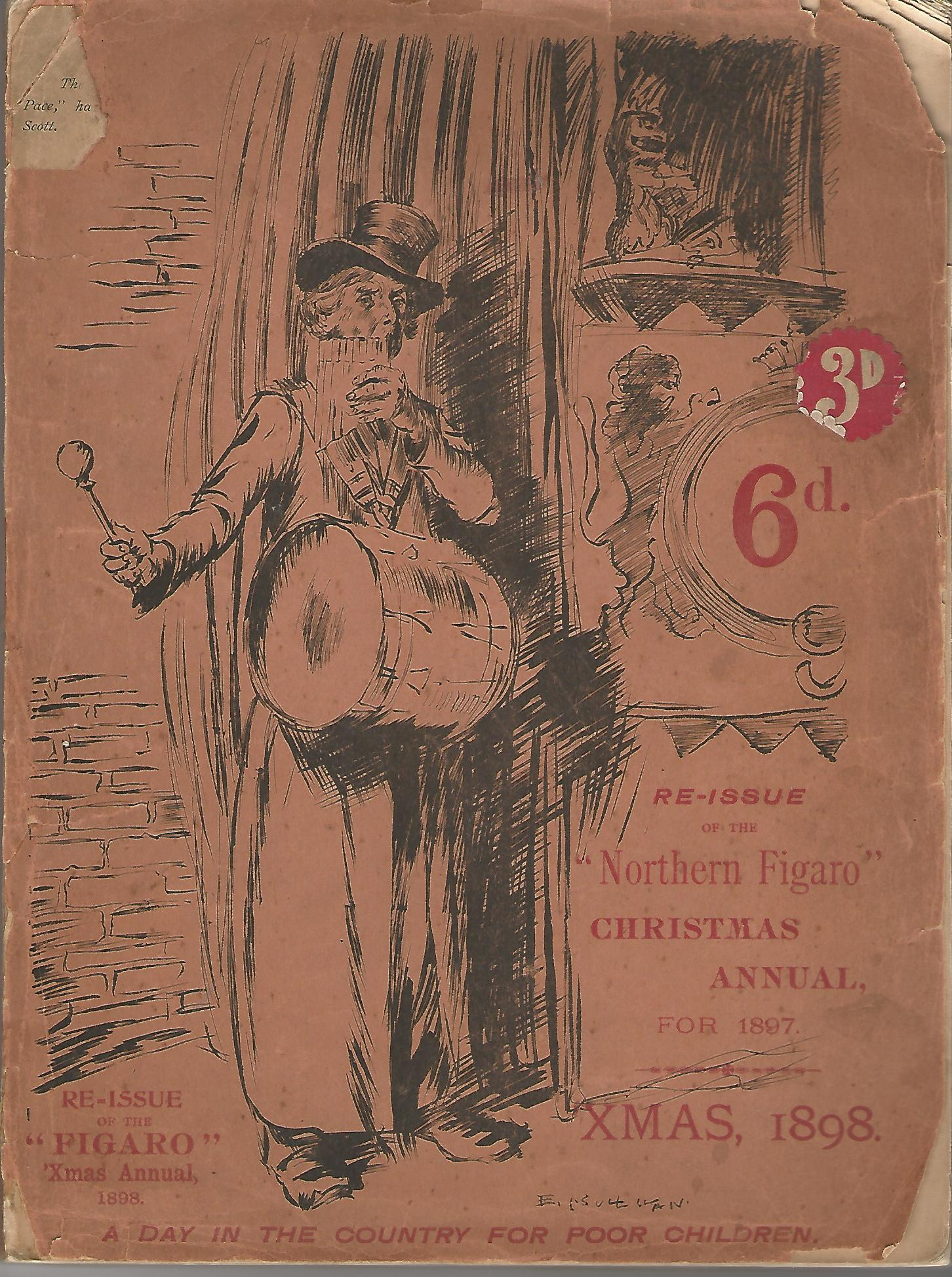 "Image for Re-Issue of the ""Northern Figaro"" Christmas Annual for 1897, Xmas 1898."