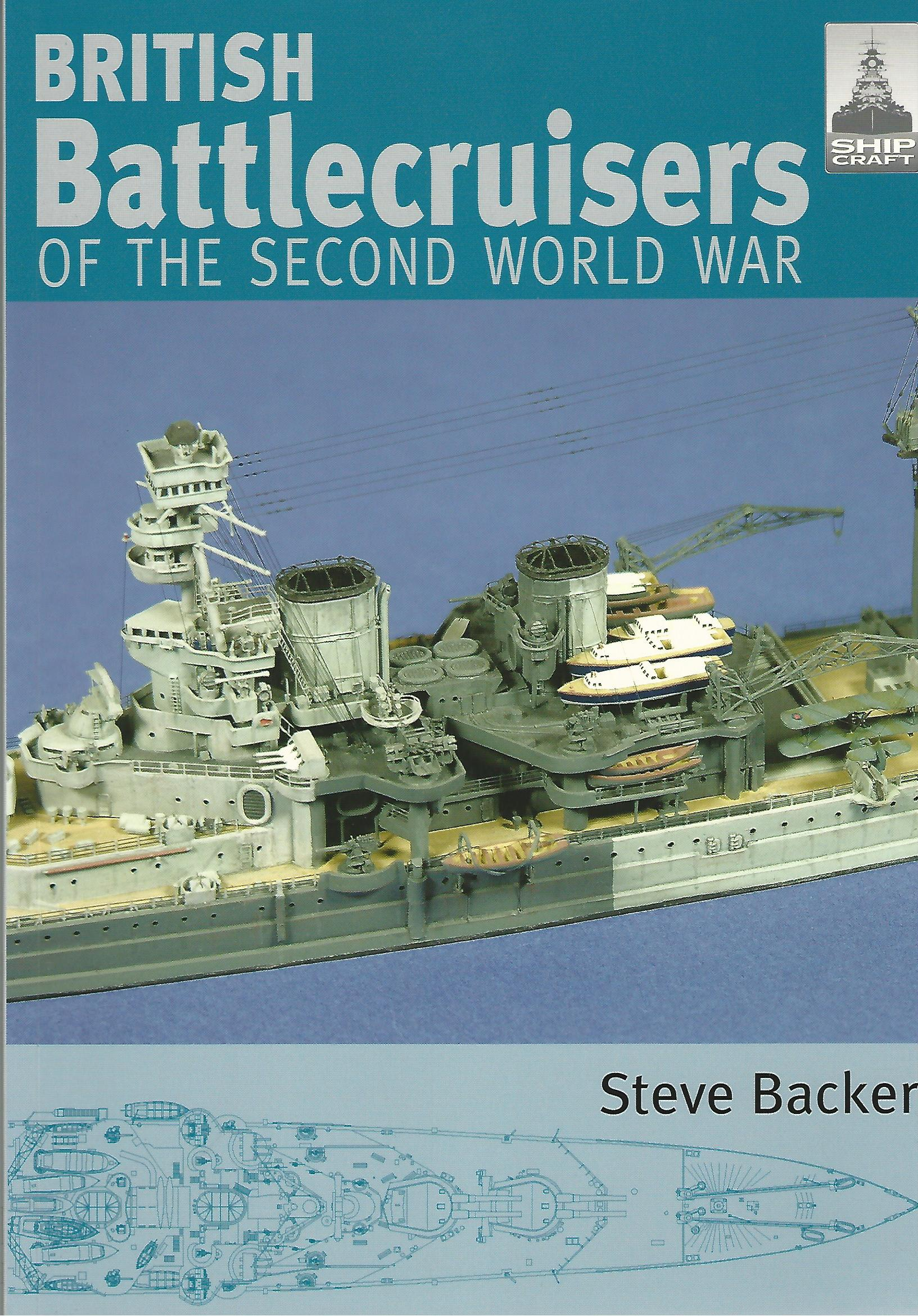Image for Shipcraft 7 - British Battlecruisers of the Second World War