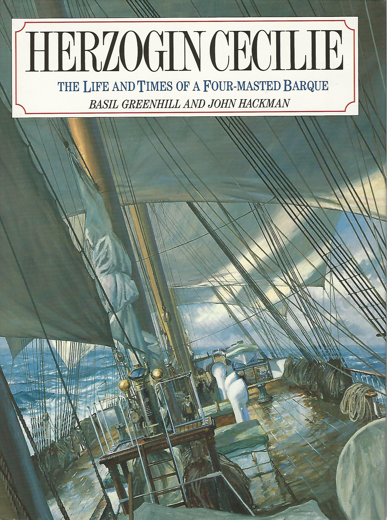 "Image for ""Herzogin Cecilie"": Life and Times of a Four Masted Barque (Conway's History of Sail)"