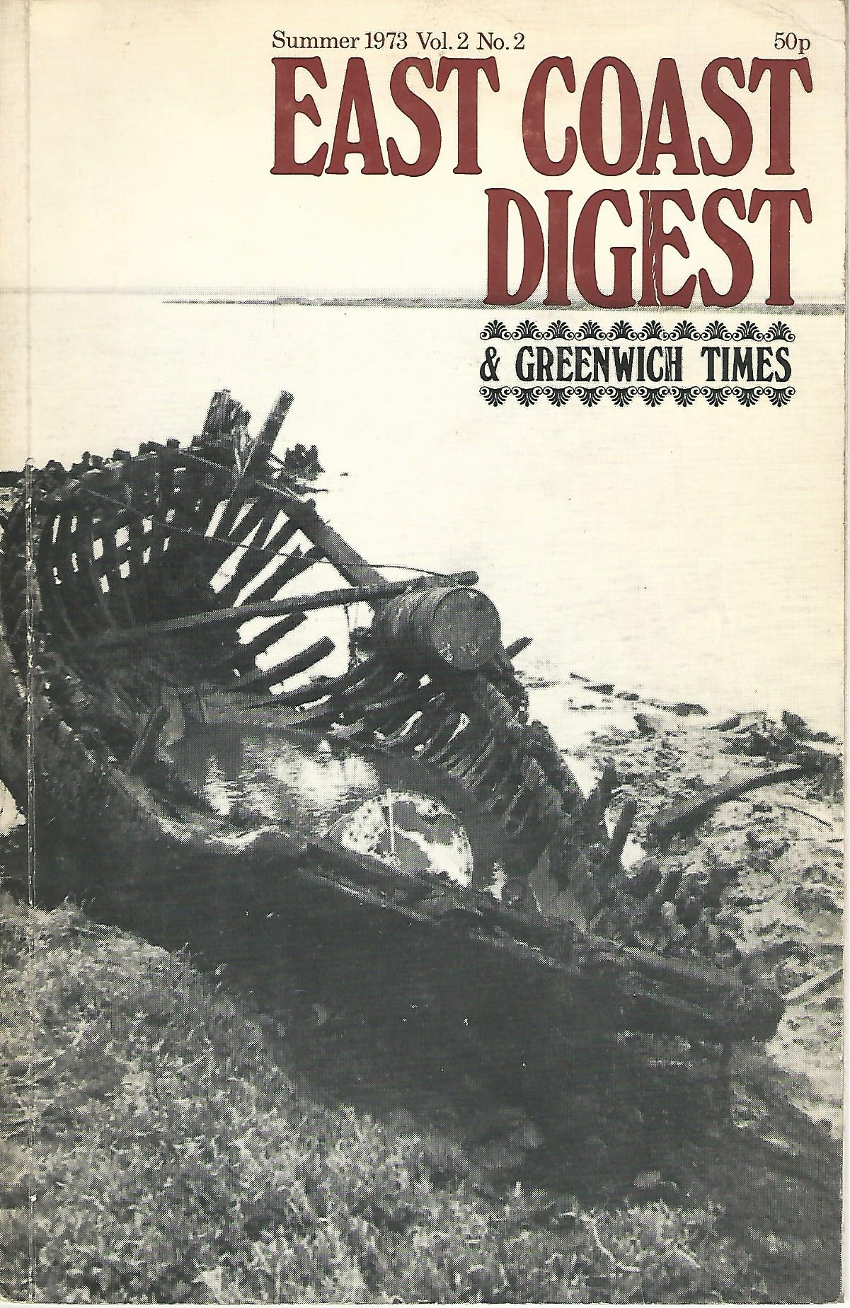 Image for East Coast Digest & Greenwich Times Vol.2 No.2.
